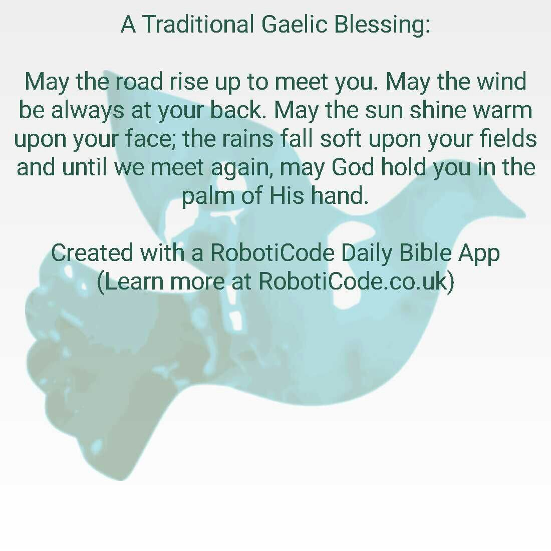 """Found this with """"Prayers & Blessings Daily"""" for Android, iPhone and Kindle Fire! http://www.roboticode.co.uk"""