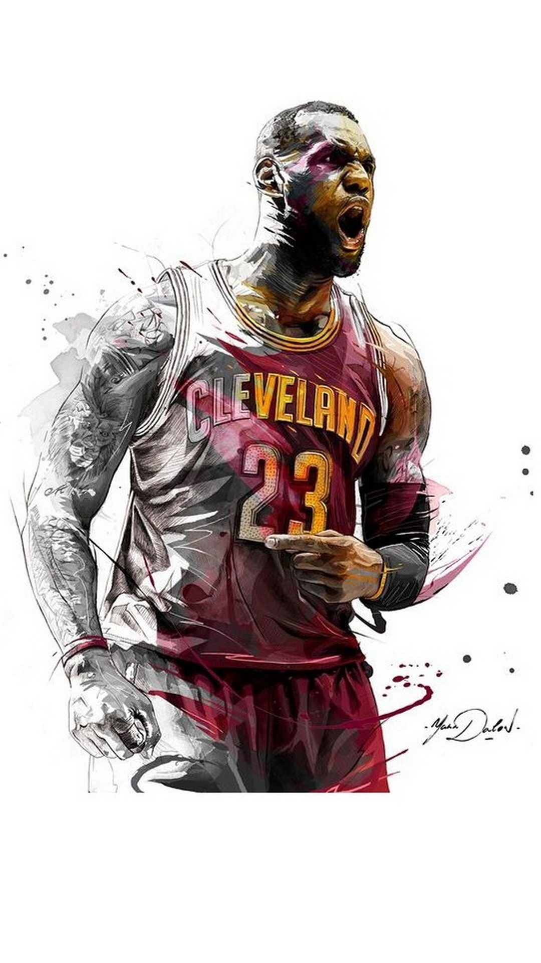 IPhone Wallpaper LeBron James