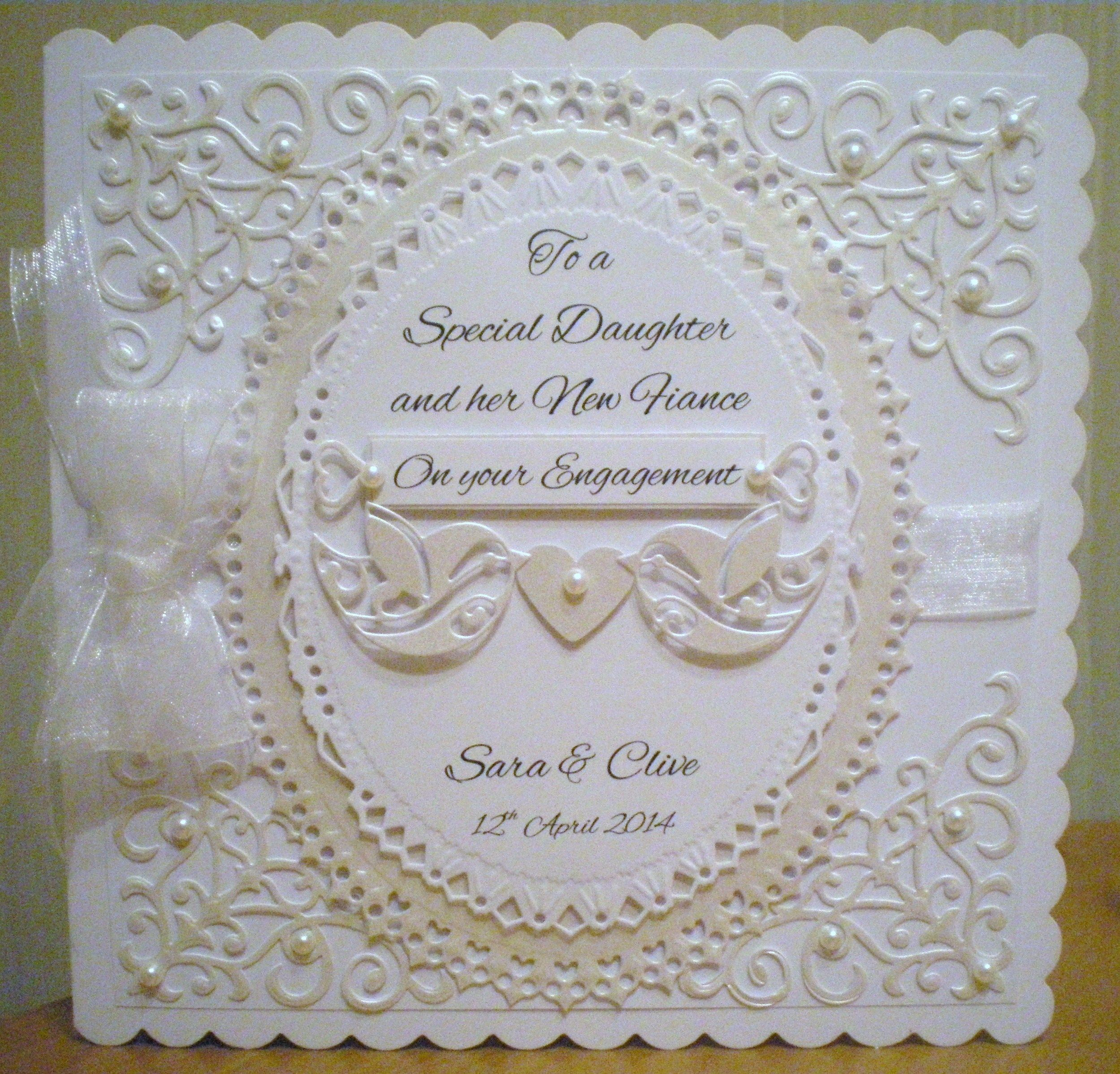 Engagement Card using Spellbinders and other dies | Projects to Try ...