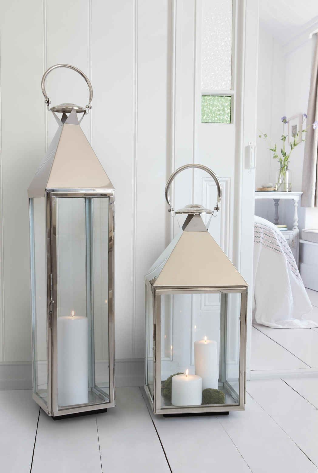 Large Decorative Floor Lanterns In 2020 Outdoor Candle Lanterns Tall Lanterns Decor Indoor Candle Lanterns