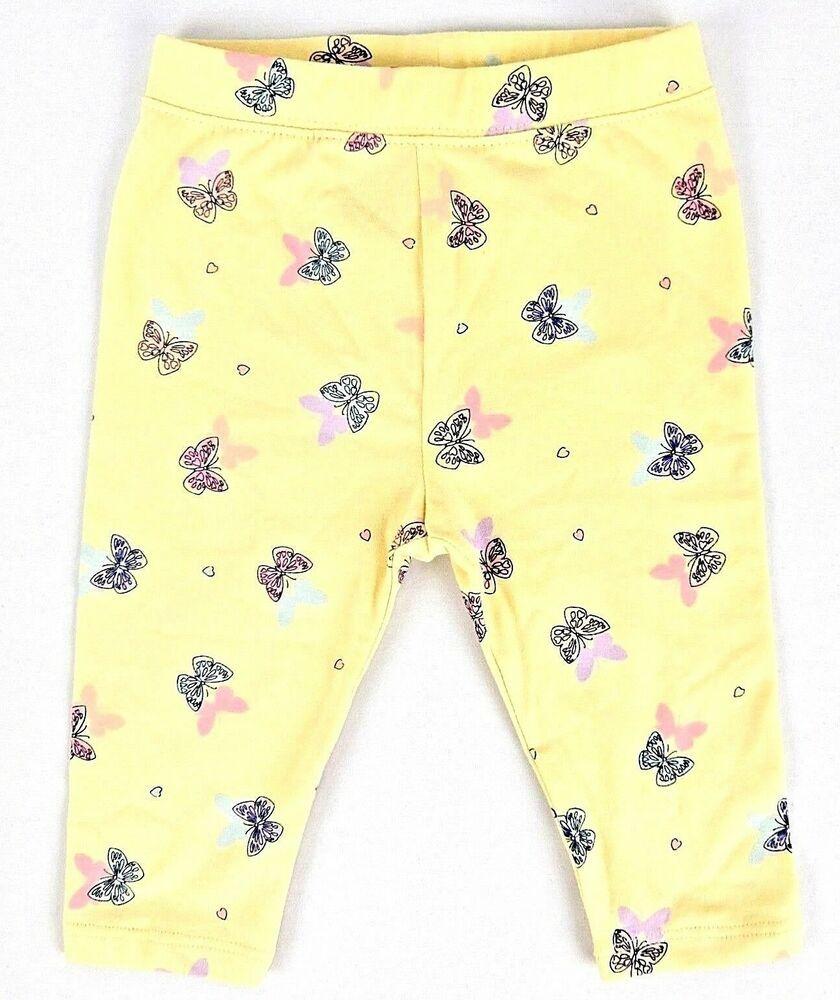 adbdaa79a Gap Baby Girls Leggings Yellow Pink Blue Purple Butterflies Size 12-18  Months #Gap #Leggings #Everyday
