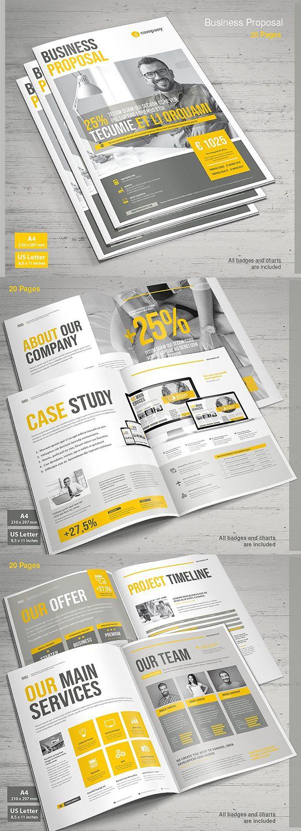 Professional Proposal Templates Professional Business Proposal Templates Design  15  Полиграфия .