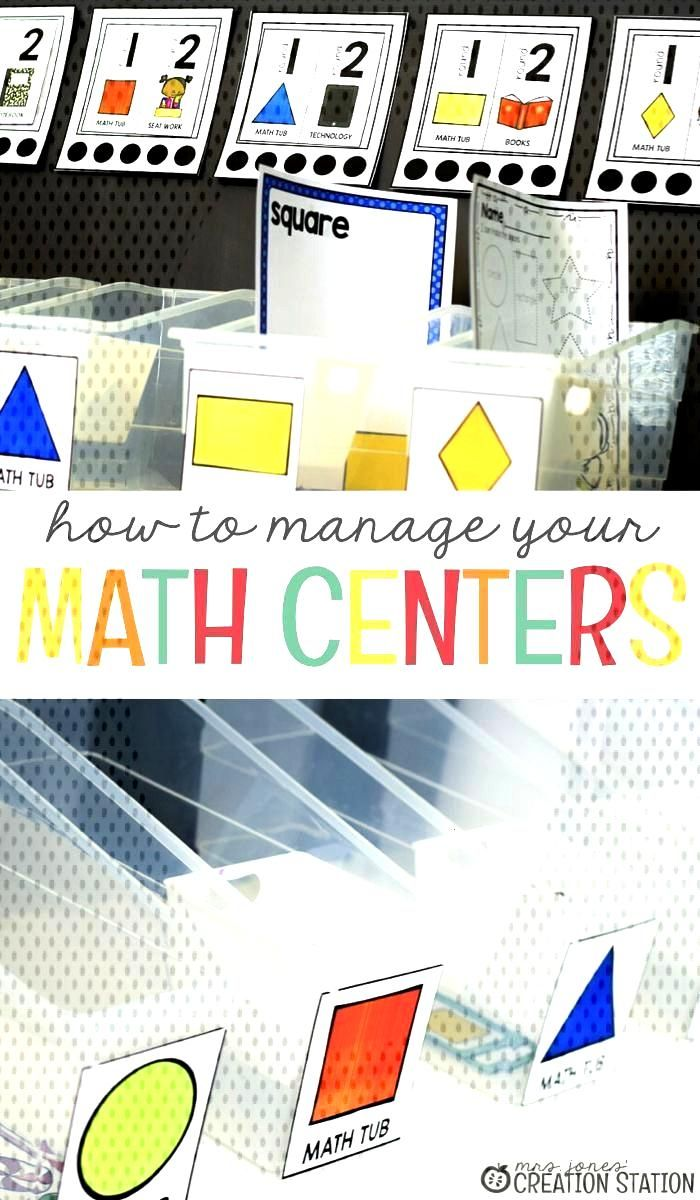 Math Center Organization  Do you know how to manage your math centers? Math Centers are a big part