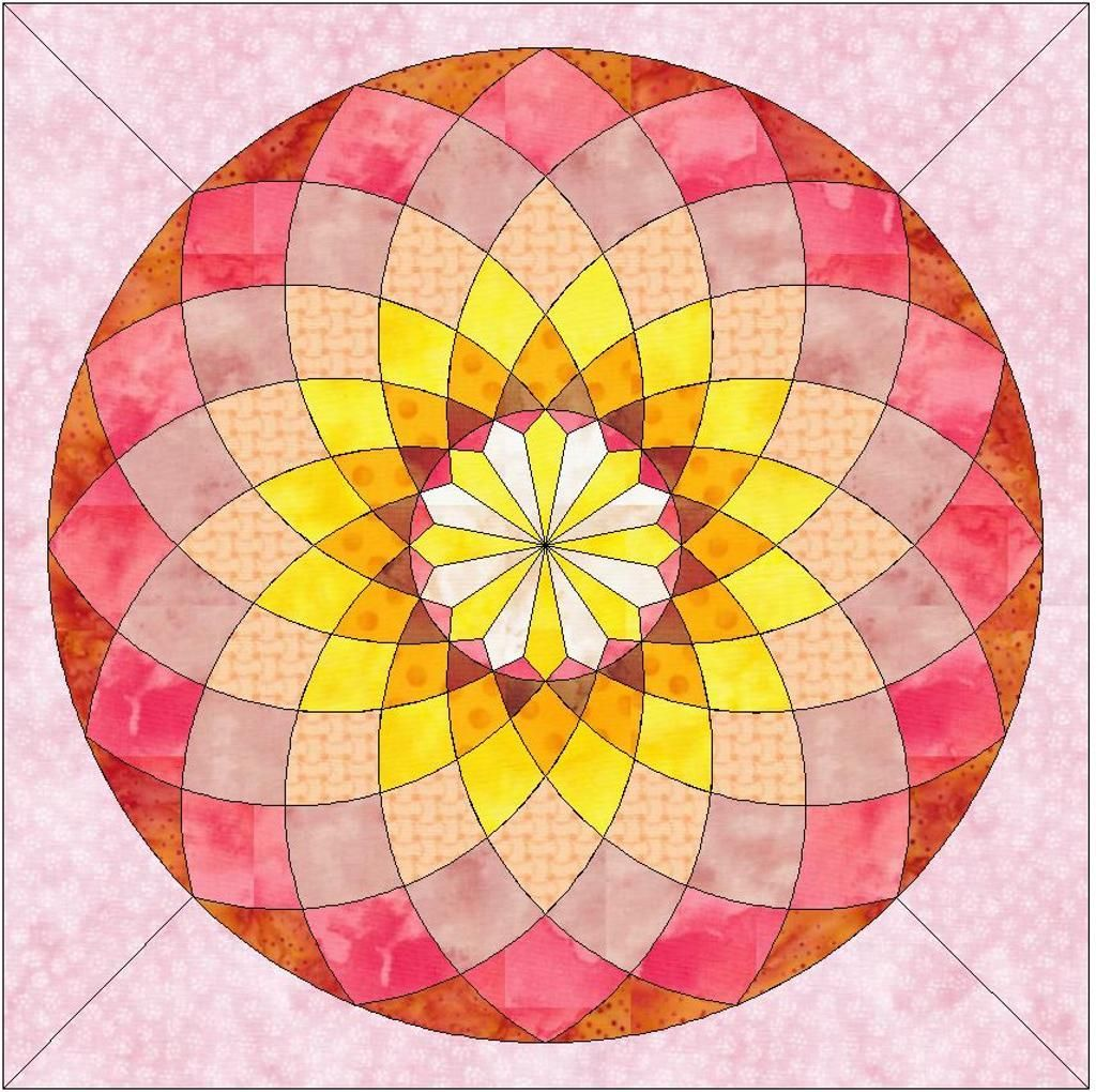 Small Dahlia ... by QuiltingSupport Quilting Pattern - Looking for your next project? You re ...