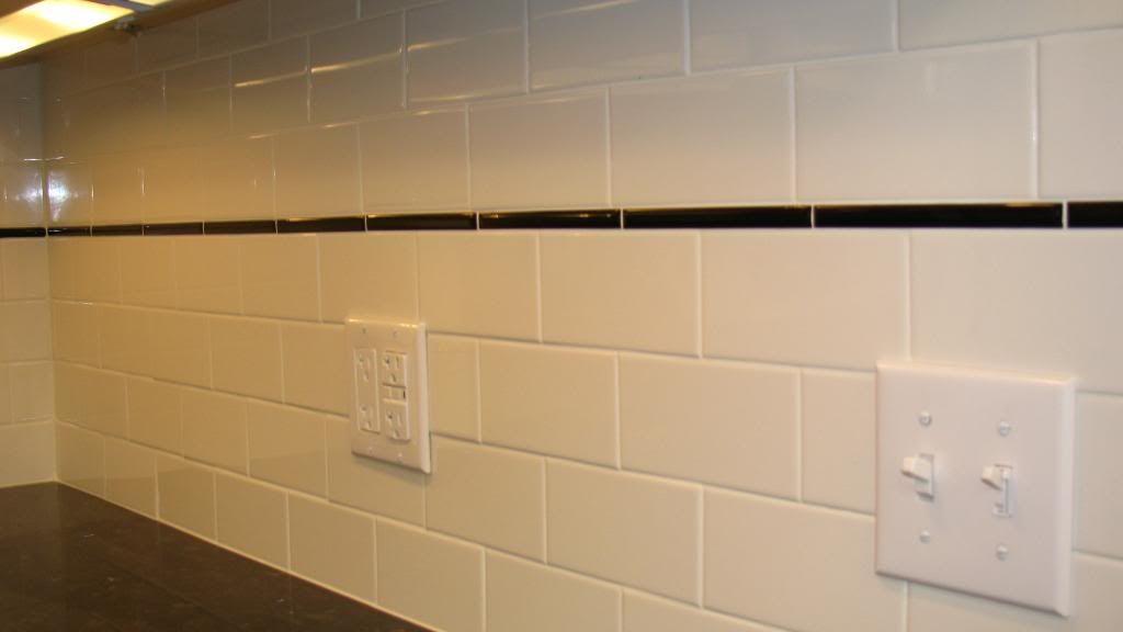 subway tile backsplash kitchen colors