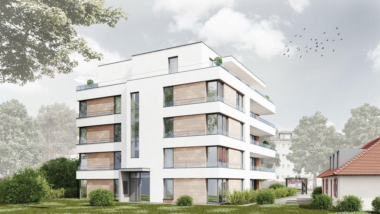 Visualisierung Freiburg Zasiusstraße Neubau http//www