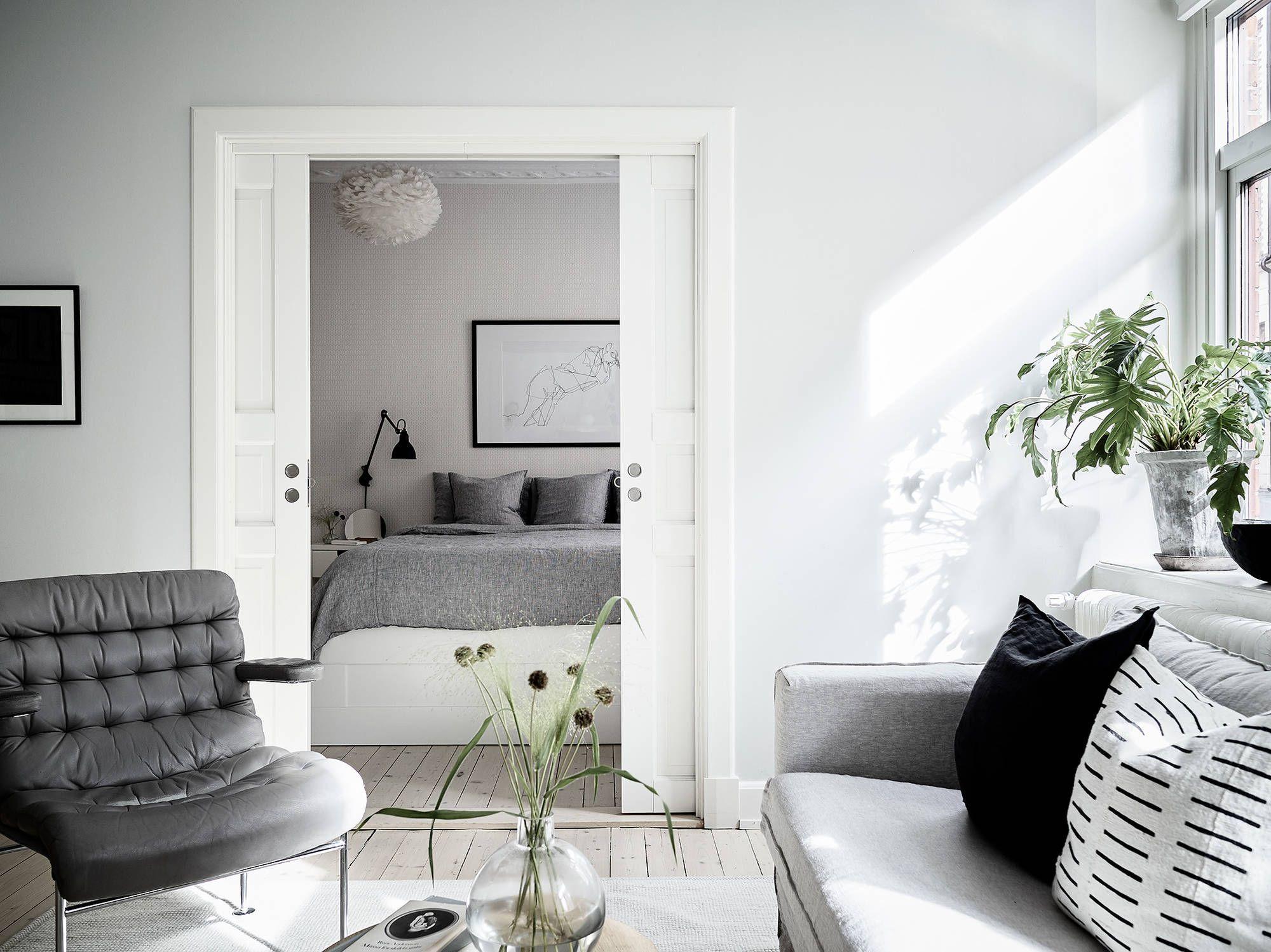 Stunning Scandinavian Style Interior Bruno Mathsson Karin  # Vitrine Salon Ikea