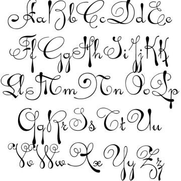 Cursive Tattoo Fonts  For  Free Tattoo Design Gallery  Page