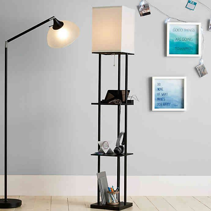 Equip Your Space 201 Tag 232 Re Floor Lamp With Charging Station In 2020 With Images Floor Lamp