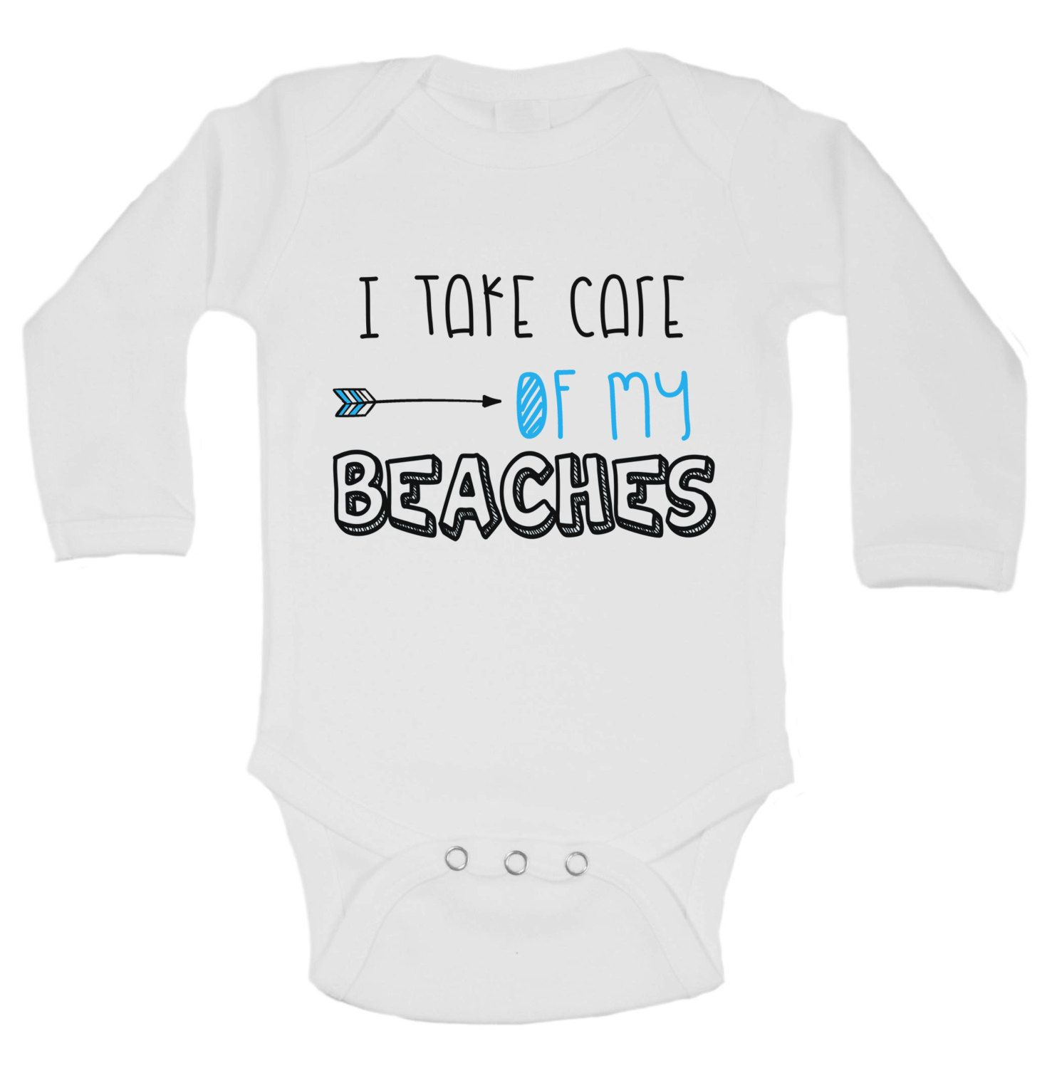 Super Cute Beach Baby esie FREE SHIPPING on ALL ORDERS