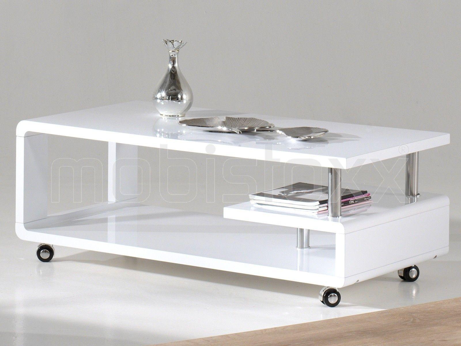 Objet Deco Laque Blanc table basse rectangulaire pionus 115 cm blanc laqué   table