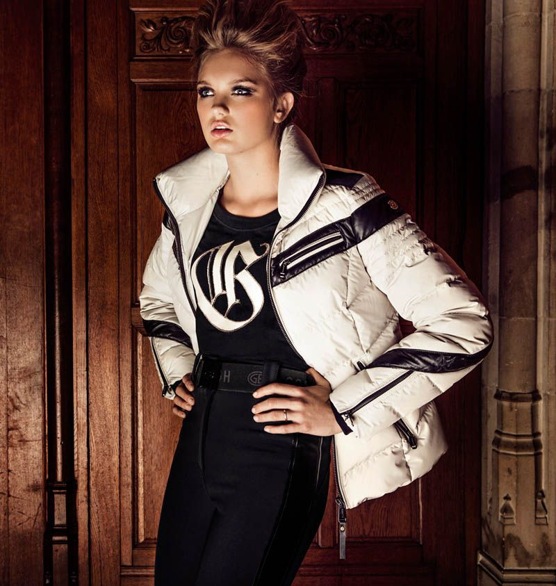 Romee Strijd is Chateau Chic for Goldberghs Fall 2013