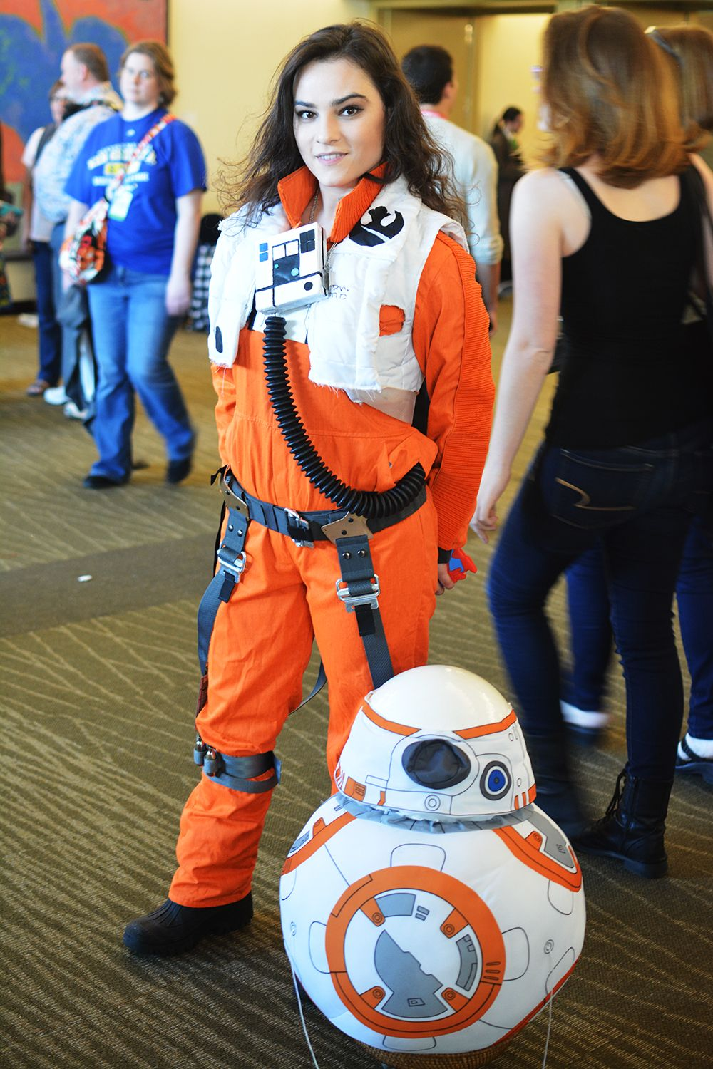 Bien connu Rule 63 Poe Dameron Star Wars Genderbent Cosplay | Star Wars  KS35