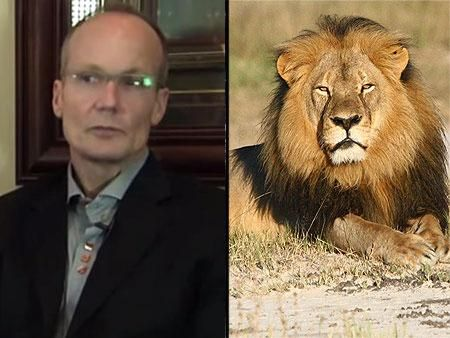 Minnesota dentist who killed Cecil the lion has contacted U.S. authorities http://peoplem.ag/3vbQUC2