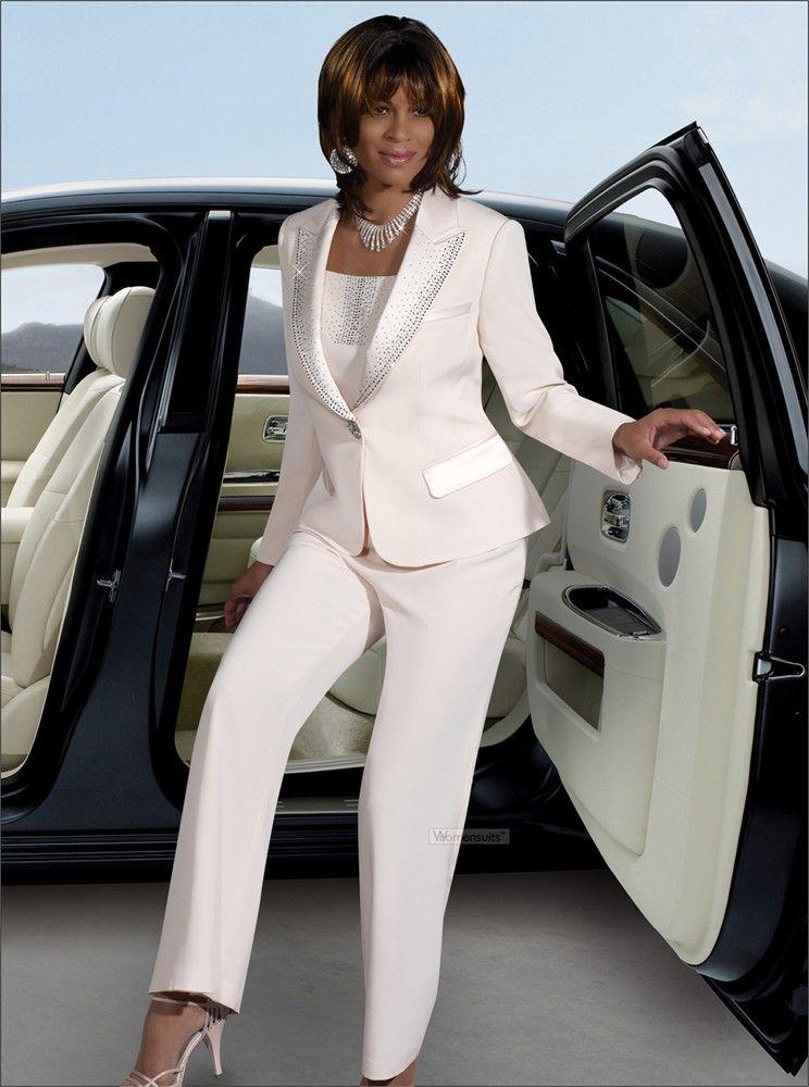 women\'s wedding suits | Women\'s Pant Suit by DVC Exclusive 15073 ...