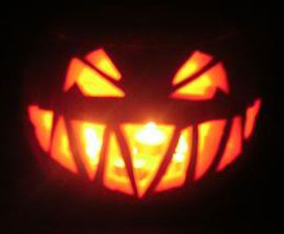 simple yet scary halloween pumpkin carving faces - 40 Wolf Pumpkin Template Achievable