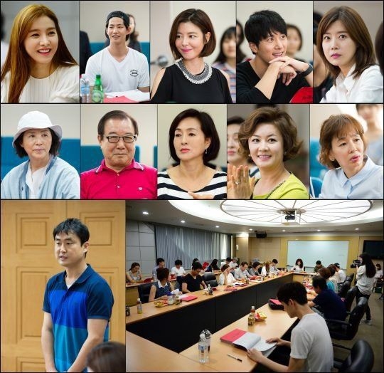 'Our Gab Soon' reveals pictures from first table-read with Kim So Eun, Song Jae Rim, and more | allkpop.com
