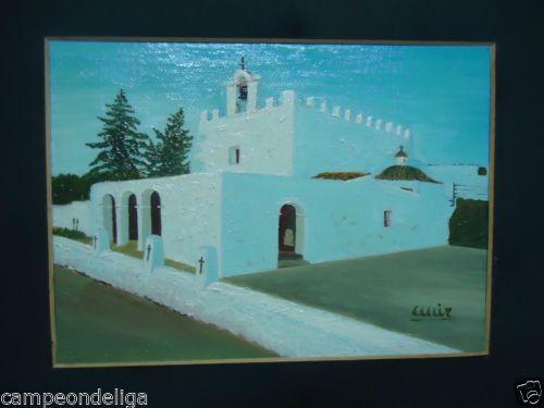 CUADRO DE PINTURA AL OLEO, FIRMADO, ENMARCADO. MUY FINO, PUNTILLOSO, DELICADO. in Arte y antigüedades, Pinturas, Paisajes y marinas | eBay