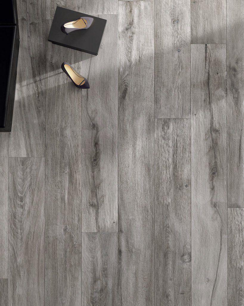 pin on grey wood tile flooring