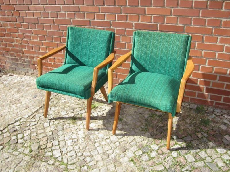Sessel vintage 60er 60s grün mid century Vintage Möbel Pinterest