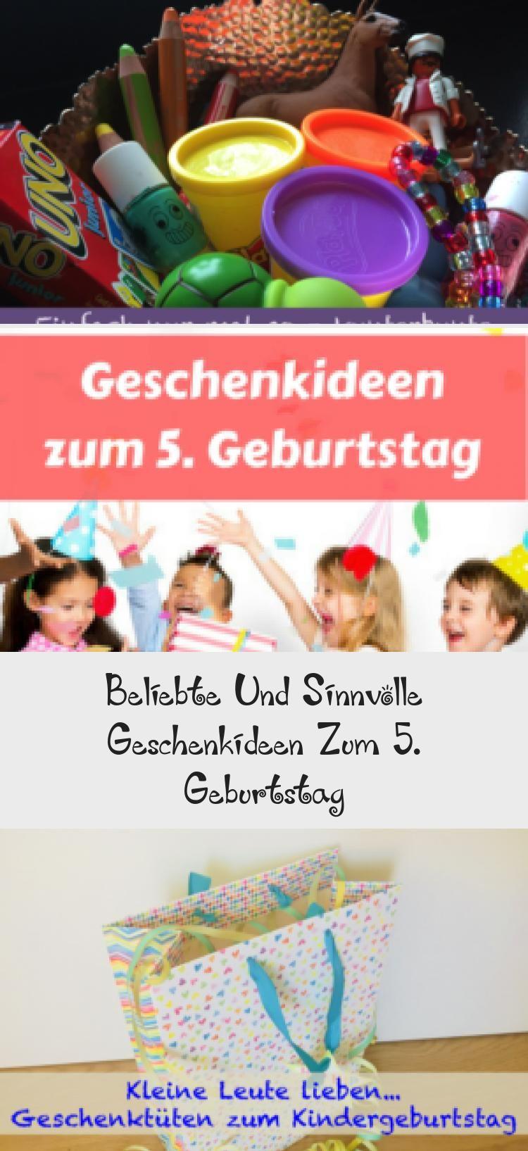 Beliebte Und Sinnvolle Geschenkideen Zum 5 Geburtstag Mit