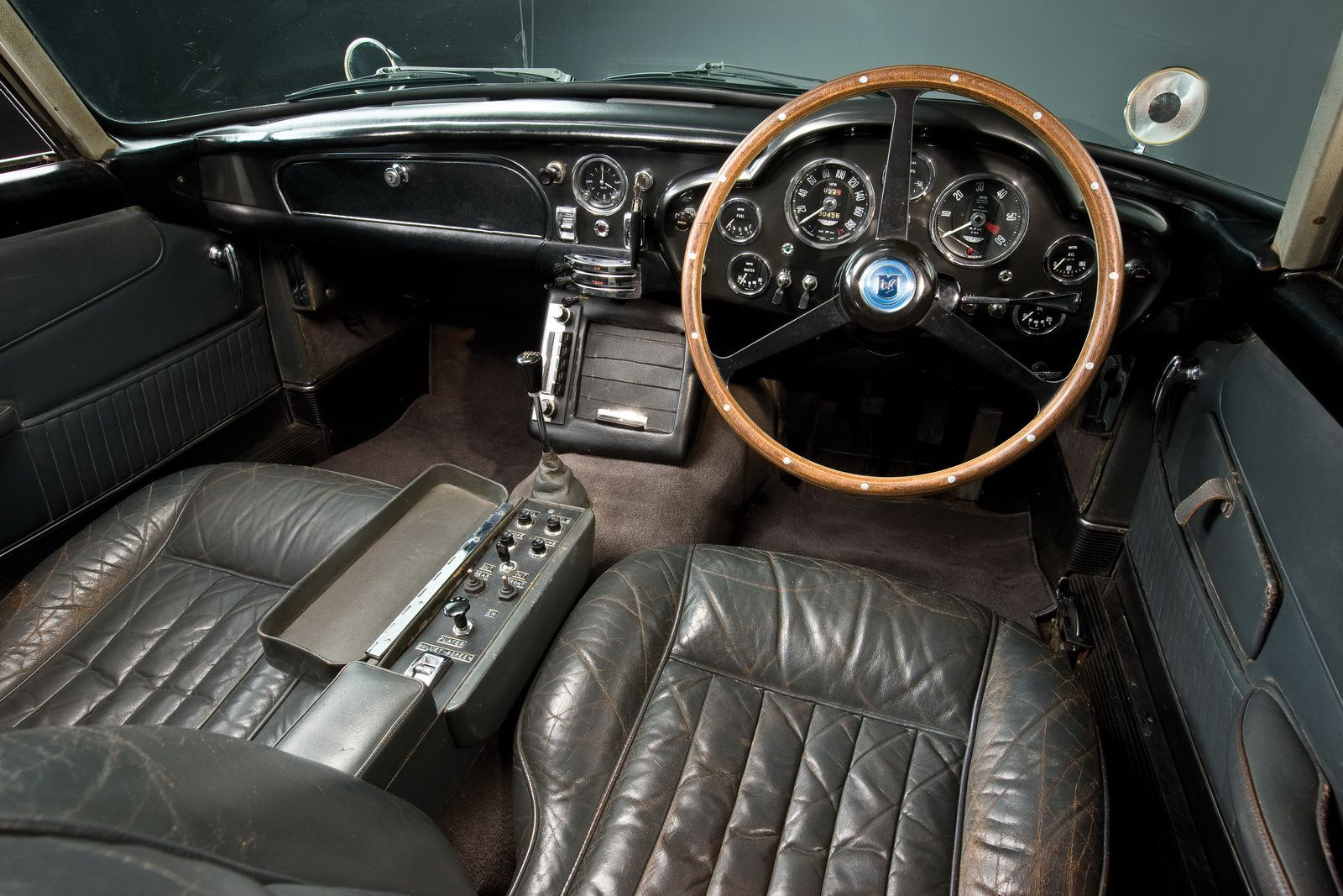 inside the bond 1964 aston martin | the cool | aston martin db5