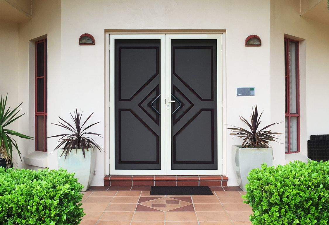 Crimsafe Regular Ensure Your Home Is Protected With Our Range Of Crimsafe Regular Security Doors In M Backyard Renovations Exterior Design Traditional Doors