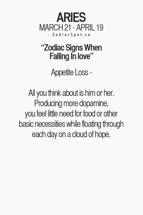 Signs aries man is falling for you