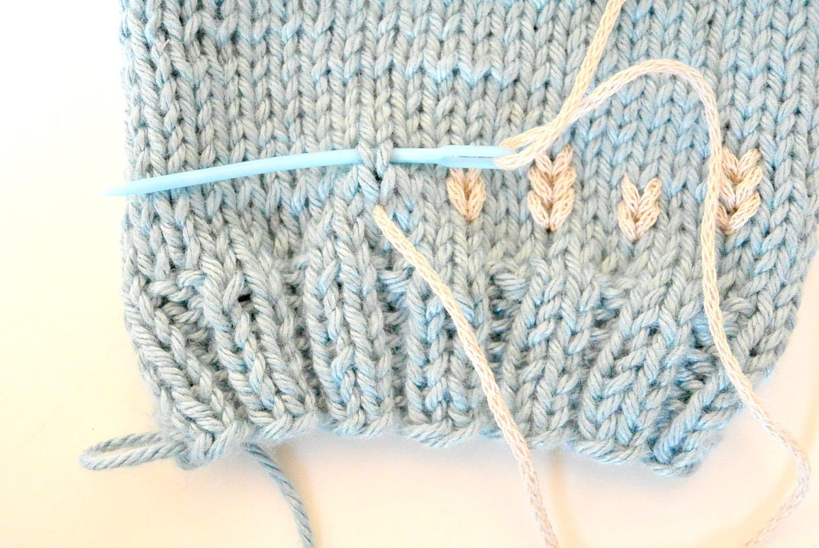 Step Two Duplicate Stitch Embroider | Ganchillo | Pinterest ...