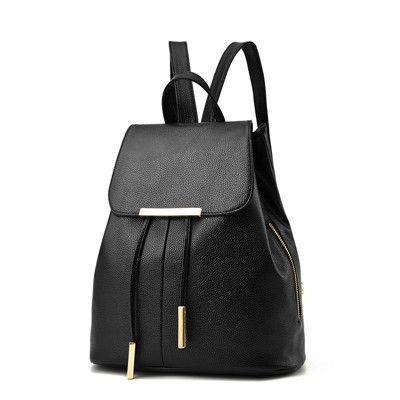c2f905c709 FLYING BIRDS fashion student s backpack women leather backpack luxury brand  girls school bags women travel bags