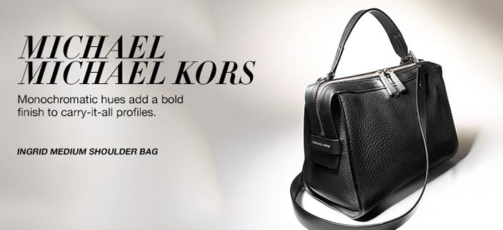 8e0e3d543fe85f MICHAEL Michael Kors, Ingrid Medium Shoulder Bag | interesting ...