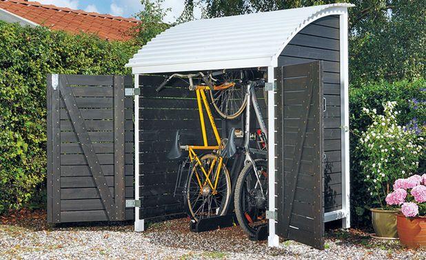 bikeport ger teschuppen pinterest carport berdachung fahrradschuppen und fahrradgarage. Black Bedroom Furniture Sets. Home Design Ideas