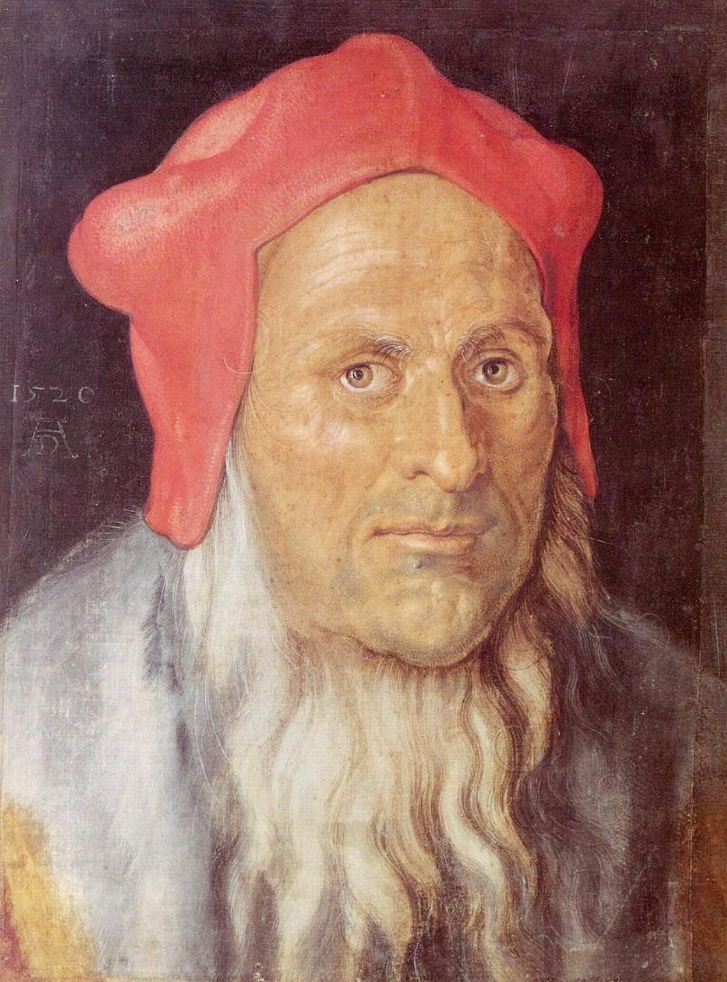 Albrecht Dürer (1471-1528) Vieillard 1520 (Paris) | Art de la ...