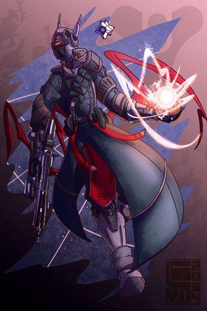 Destiny Fan Art Warlock