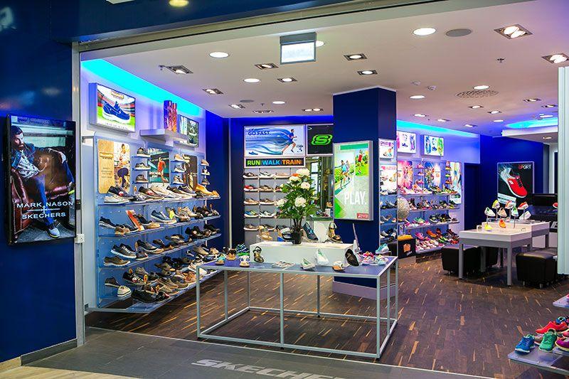 Skechers Parnu Keskus Estonia Shop Interior Design Interior