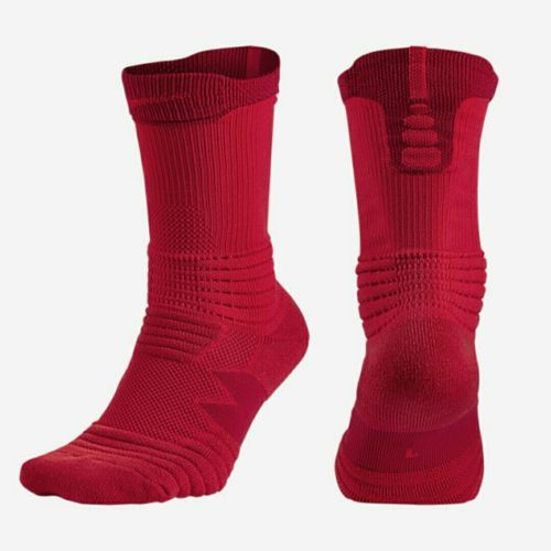 Lot 2 #pairs nike versatility #basketball crew #socks size m uk 5-8 red,  View more on the LINK: 	http://www.zeppy.io/product/gb/2/191889239229/
