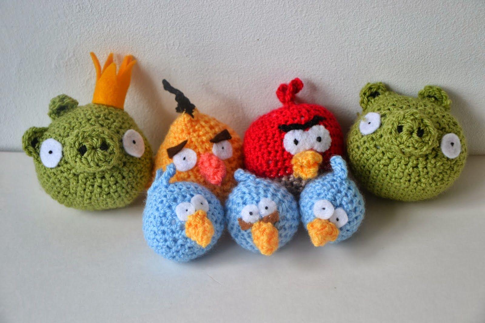 Tutorial Amigurumi Angry Bird : Angry birds amigurumi bomb bird plushie angery birds amigurumi