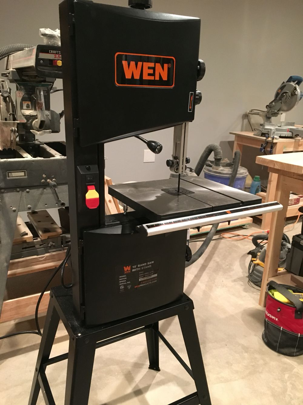My New Wen Bandsaw Works Great Got It From Home Depot Wen Bandsaw Homedepot Bandsaw Home Depot Woodworking Plans