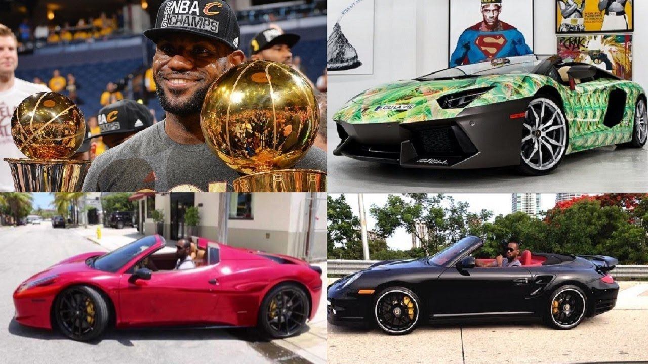 Lebron James cars collection 2016 . LeBron James became an