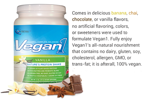 Vegan Flavors (With images) Vegan protein shake, Plant
