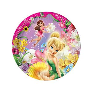 Explore Super Party Party Plates and more!  sc 1 st  Pinterest : tinkerbell paper plates - pezcame.com