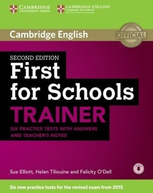 First For Schools Trainer Six Practice Tests With Answers And Teachers Notes With Audio Practice Testing Teacher Notes Ielts Reading