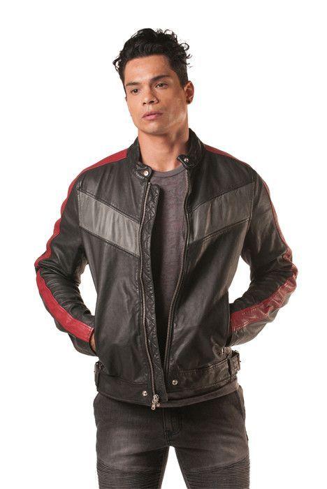 Sidero Moto Leather Jacket