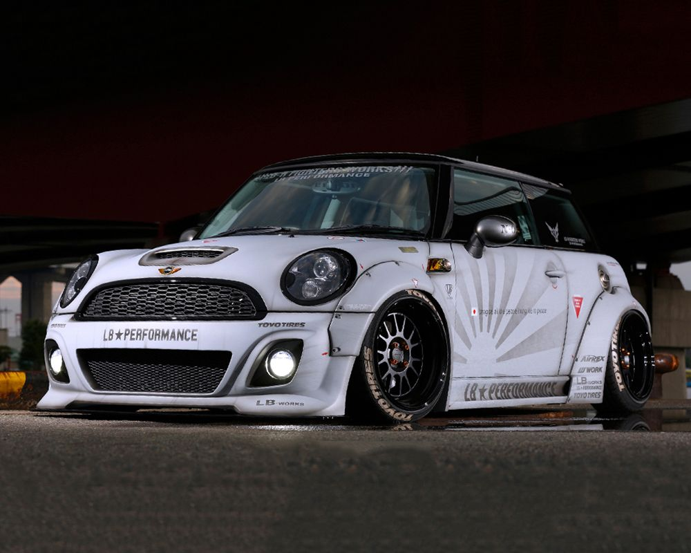 Liberty works complete stance body kit frp mini cooper r56 07 13 4600 00