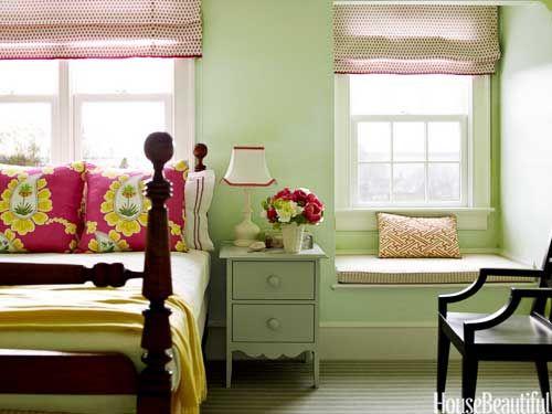 5 Happy Paint Colors Soft Green Bedroom Bedroom Green Green Rooms