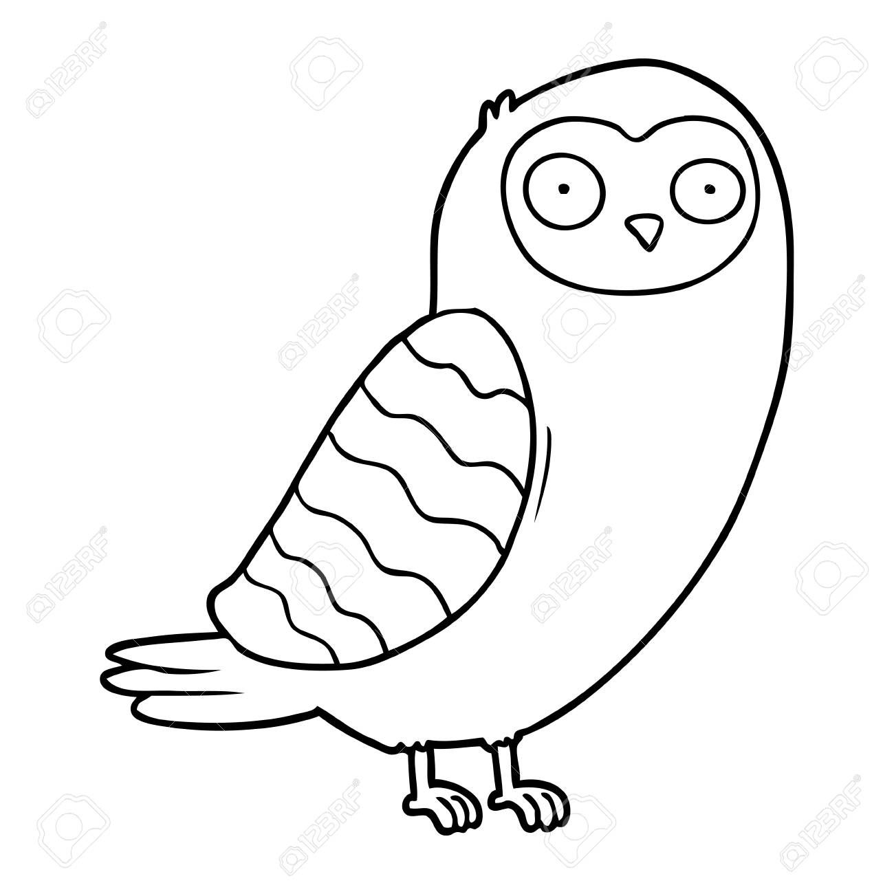 cartoon owl illustration Illustration , #Aff, #owl, #