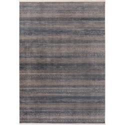 benuta Teppich Safira Blau 133×185 cm – Vintage Teppich im Used-Look benuta