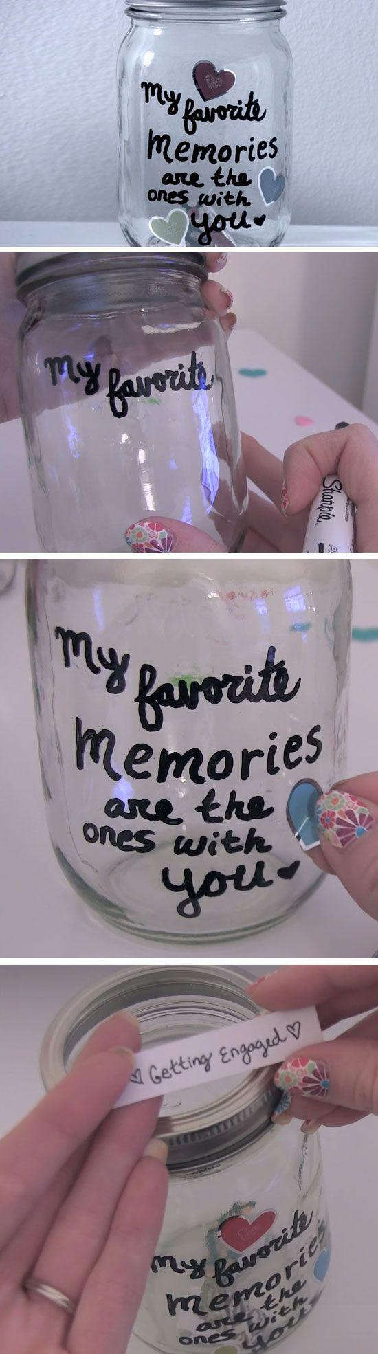 21 Valentine Ideas In A Mason Jar Diy Gifts For Boyfriend Diy Gifts For Him Girlfriend Gifts