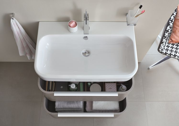 MyHome zmienia si w Internity Home Duravit and Upstairs bathrooms