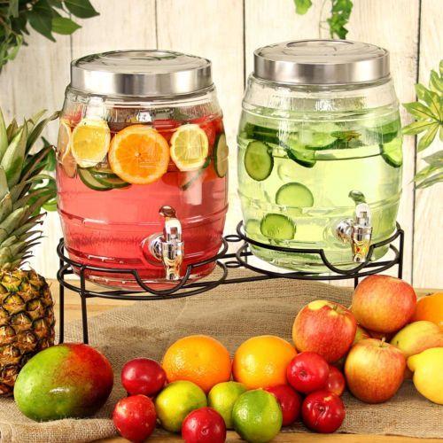 Dual-Barrel-Beverage-Dispenser-with-Stand-10ltr-bar-drinkstuff-Drink-Dispenser